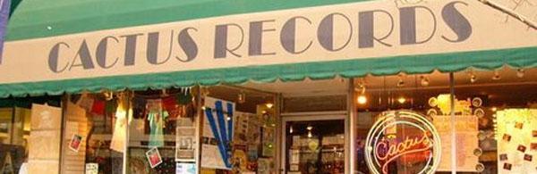 Cactus Records Storefront