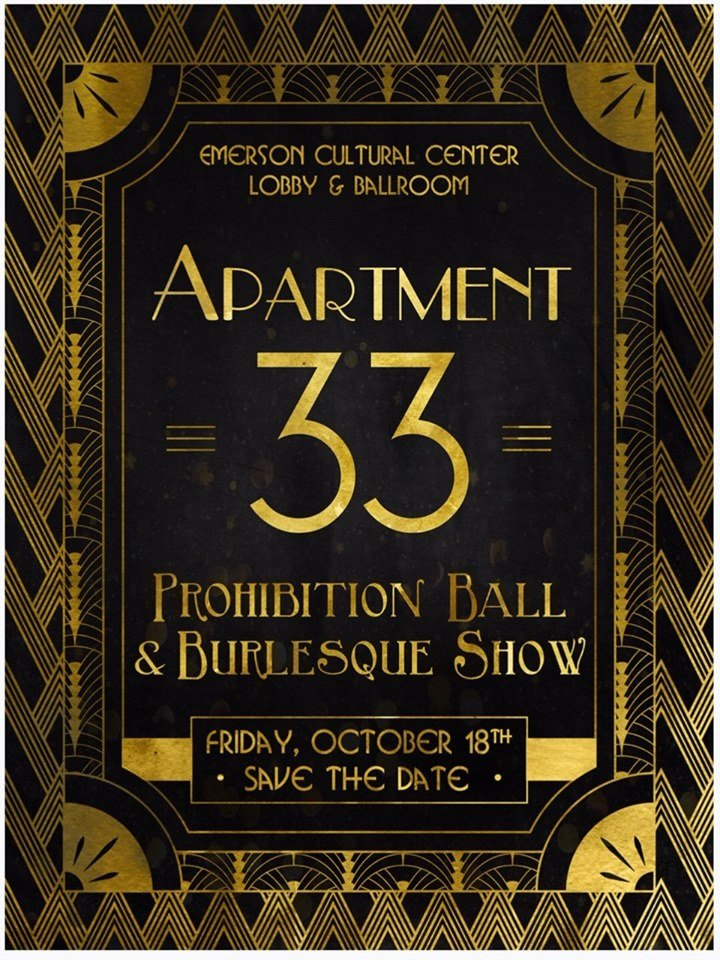 ExpiredApartment 33: Prohibition Ball & Burlesque Show
