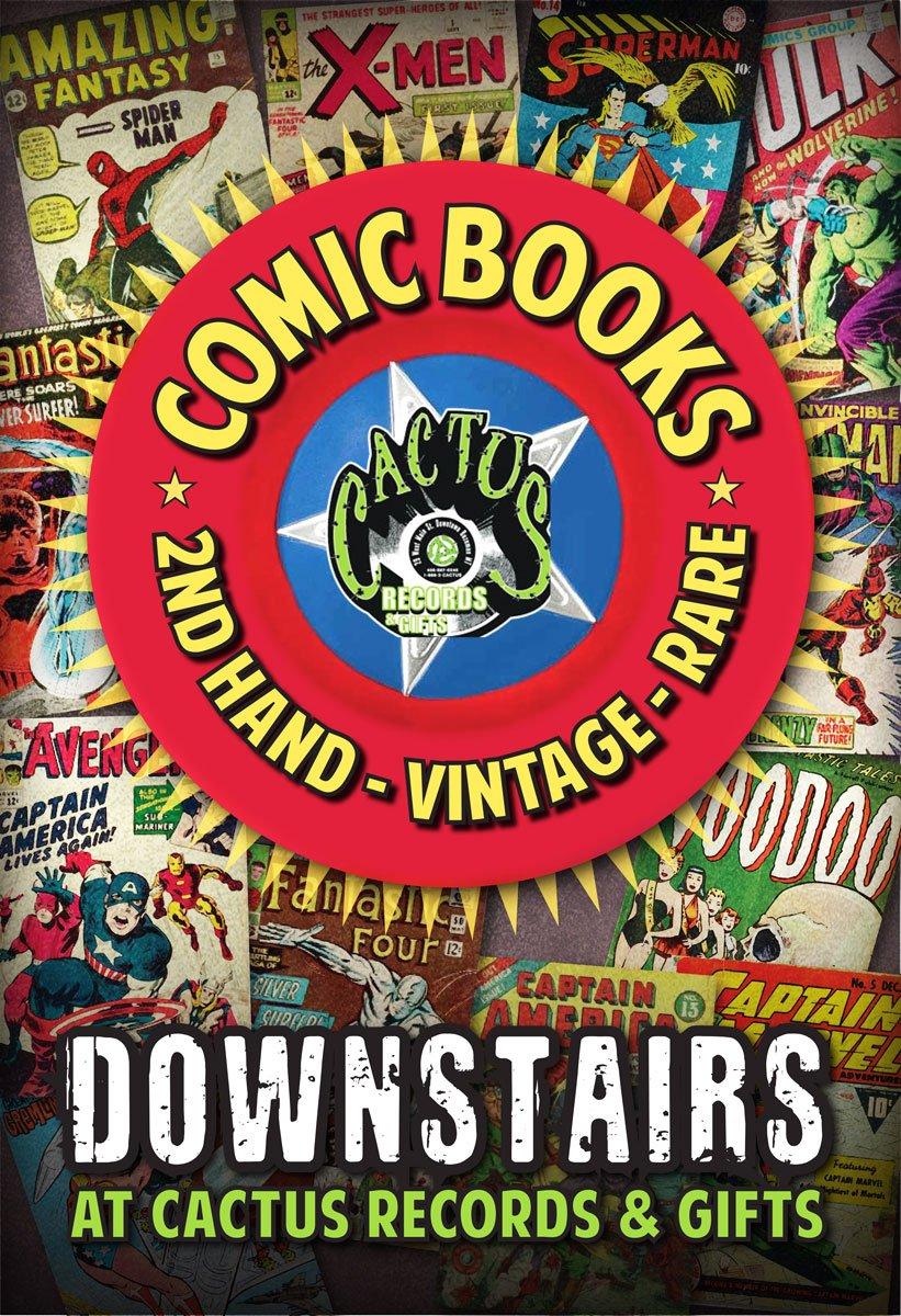 Comic Books @ Cactus