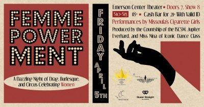 ExpiredFemmePowerment: A Dazzling Night of Drag, Burlesque and Circus