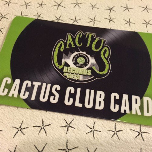 This Week's Cactus Club Card Special