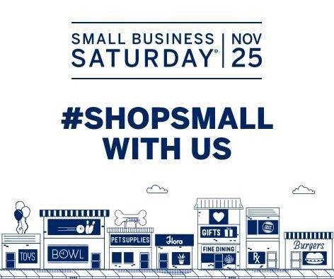 Small Business Saturday – November 25, 2017