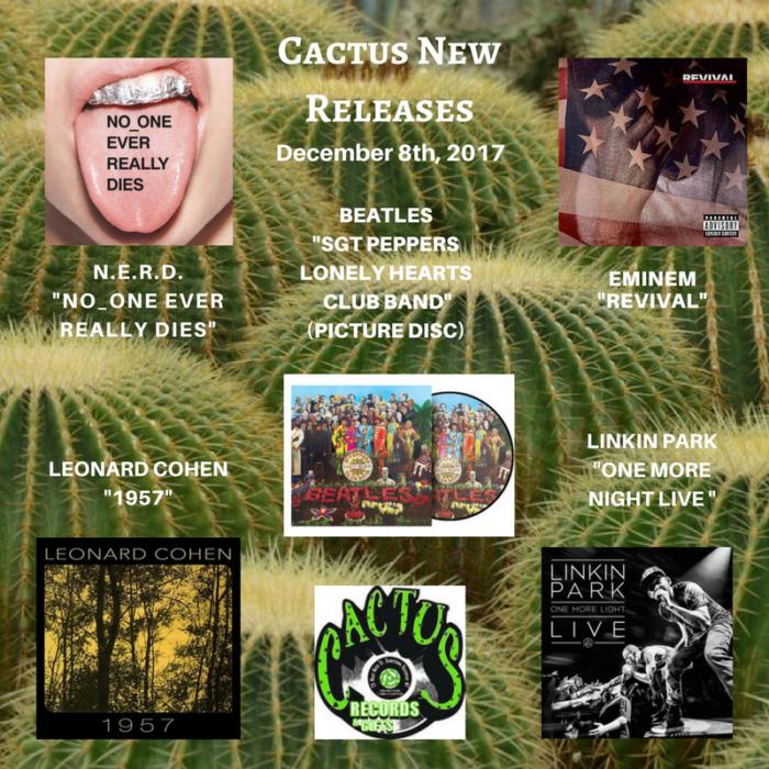 Christmas Procrastinator Sales Cactus Records