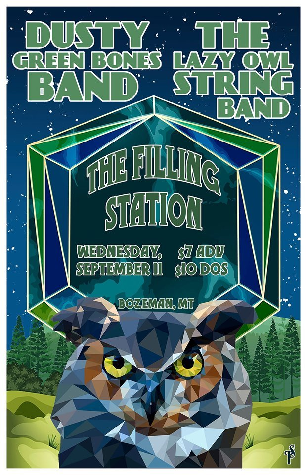 ExpiredLazy Owl String Band w/ Dusty Green Bones Band