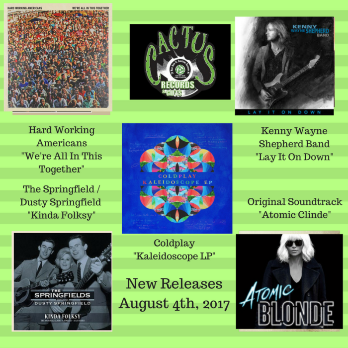 New Releases Cactus Records