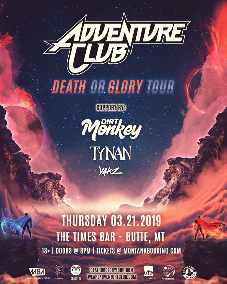 ExpiredAdventure Club: Death or Glory Tour