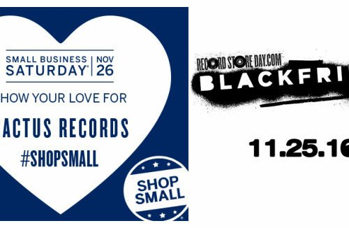 Record Store Day Black Friday and Small Biz Saturday