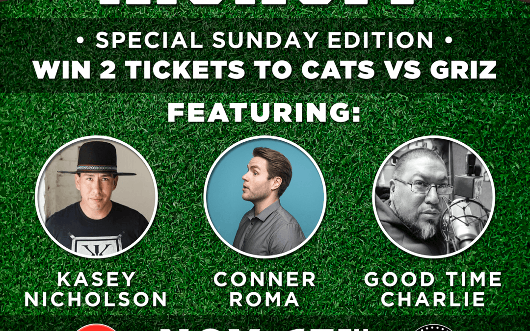 ExpiredCATS vs GRIZ Comedy Kickoff featuring Kasey Nicholson, Conner Roma and Good Time Charlie