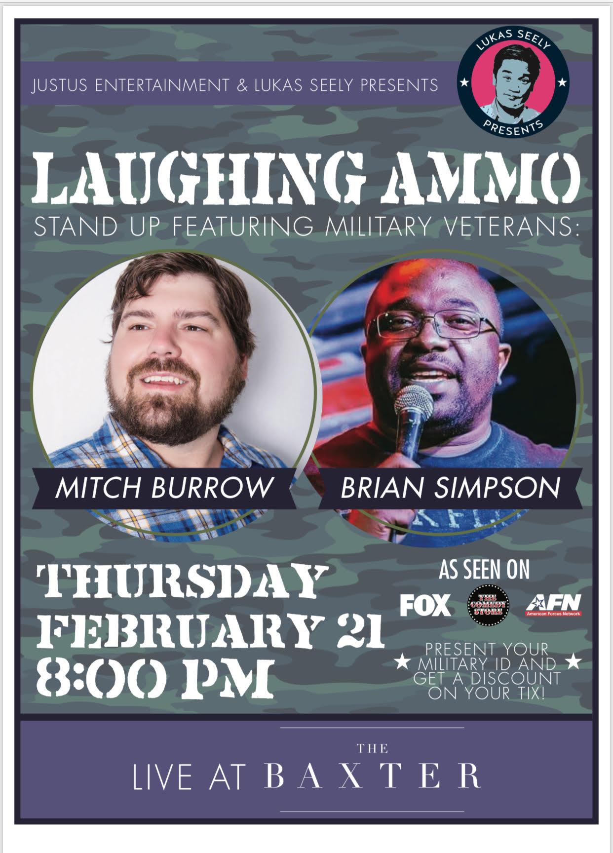 ExpiredNight of Comedy: Mitch Burrow & Brian Simpson
