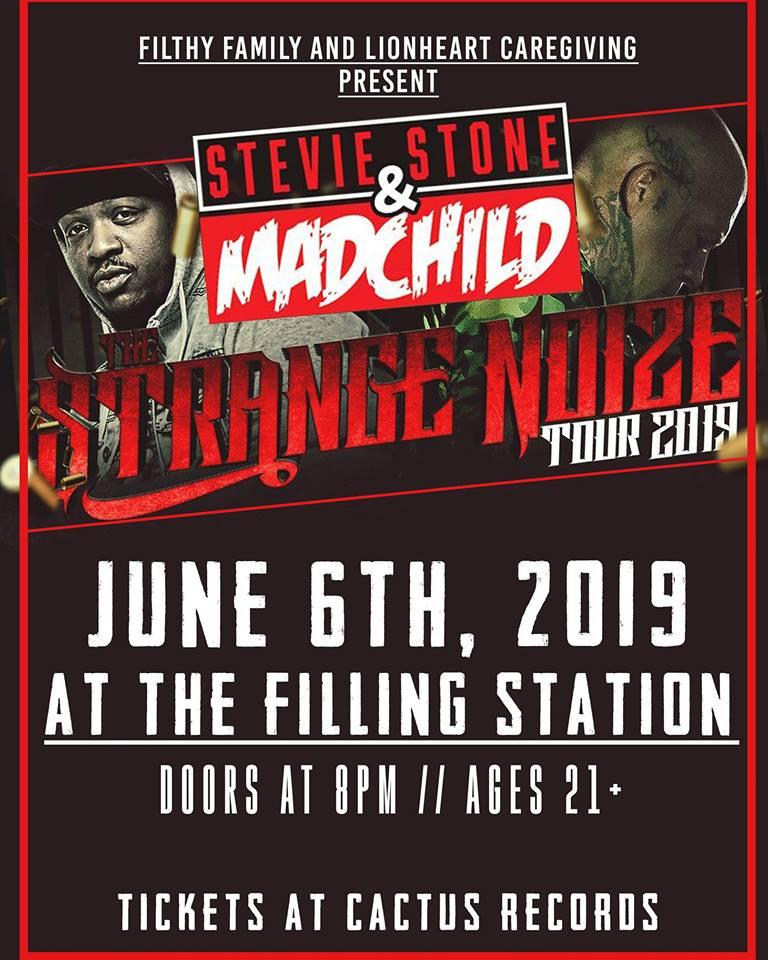 ExpiredMadchild & Stevie Stone (Venue Change, Free Show)
