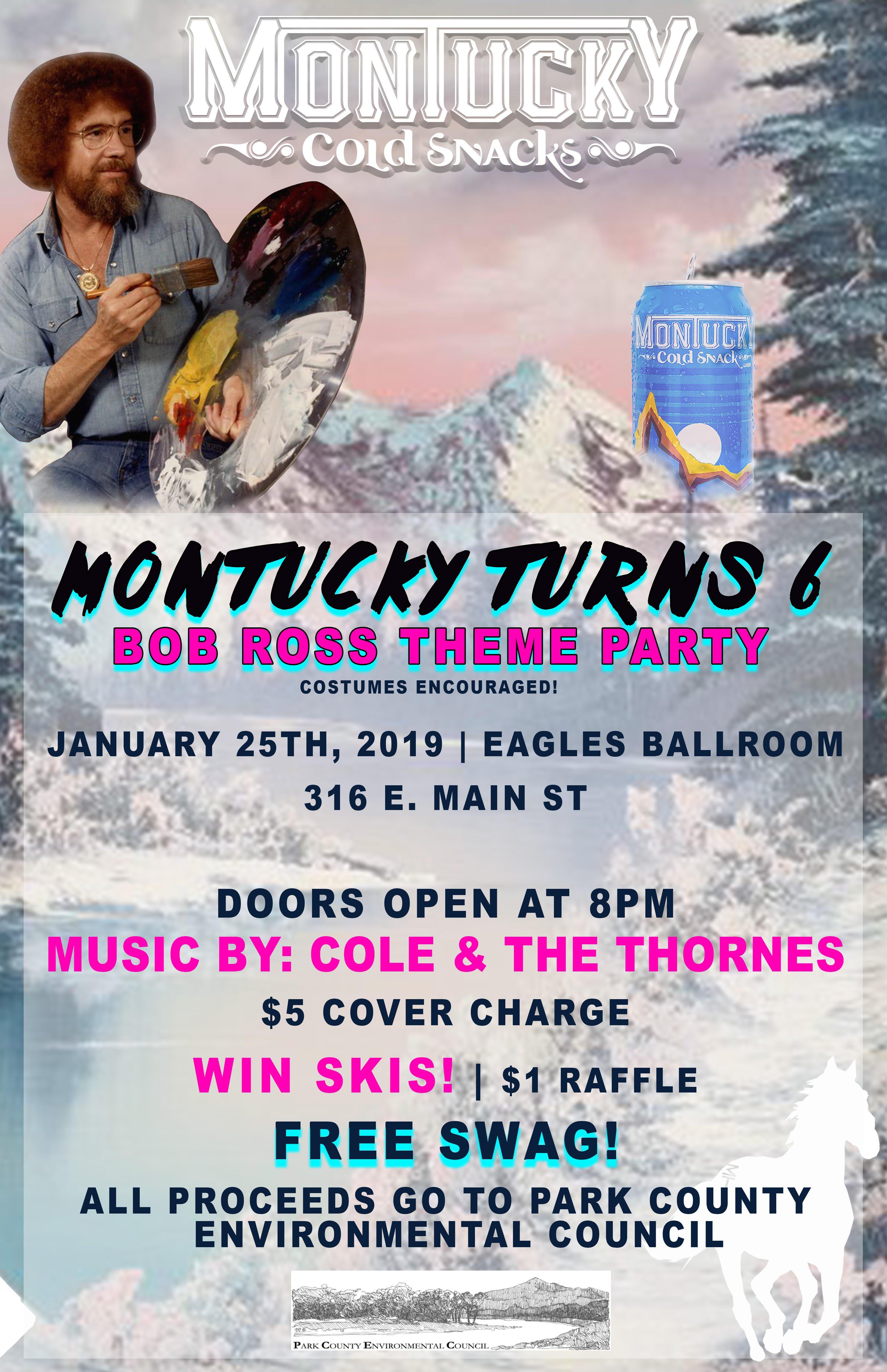 ExpiredMontucky Turns 6 (The Bob Ross Party)