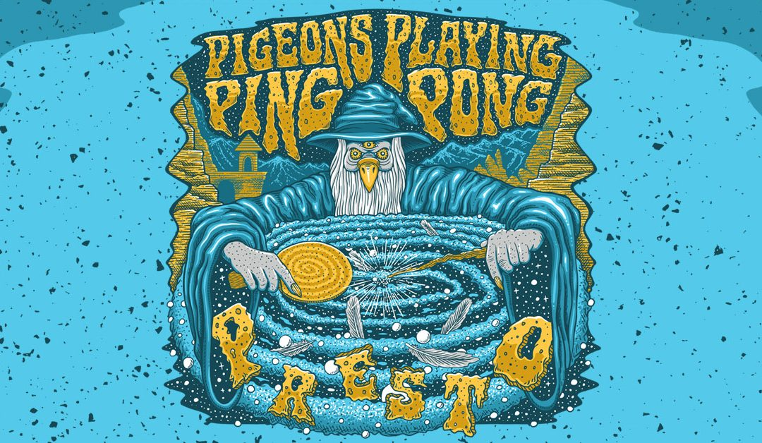 ExpiredPigeons Playing Ping Pong
