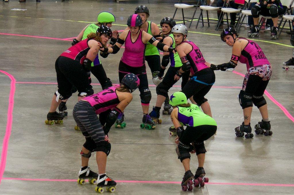 ExpiredJazz Rage Roller Derby Bout
