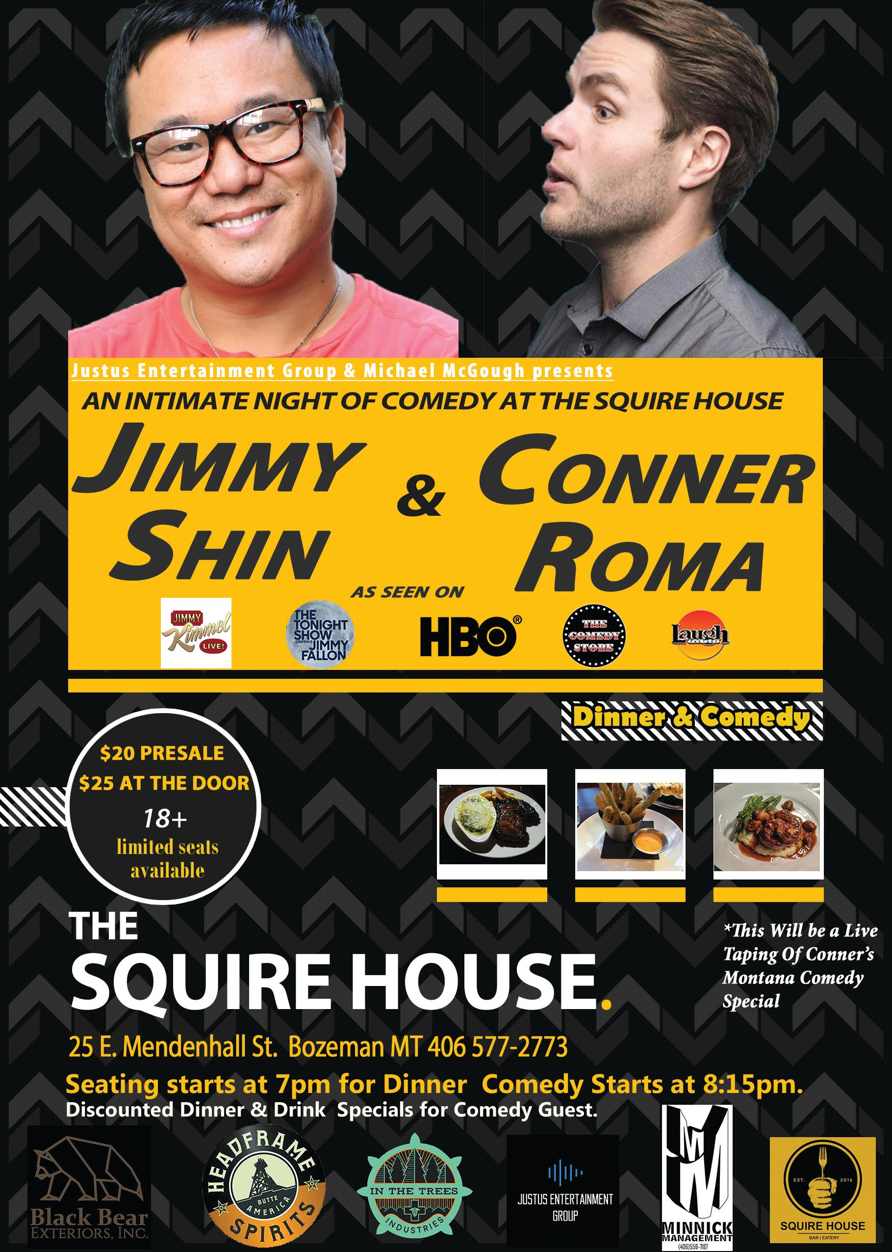 ExpiredNight of Comedy with Jimmy Shin & Conner Roma