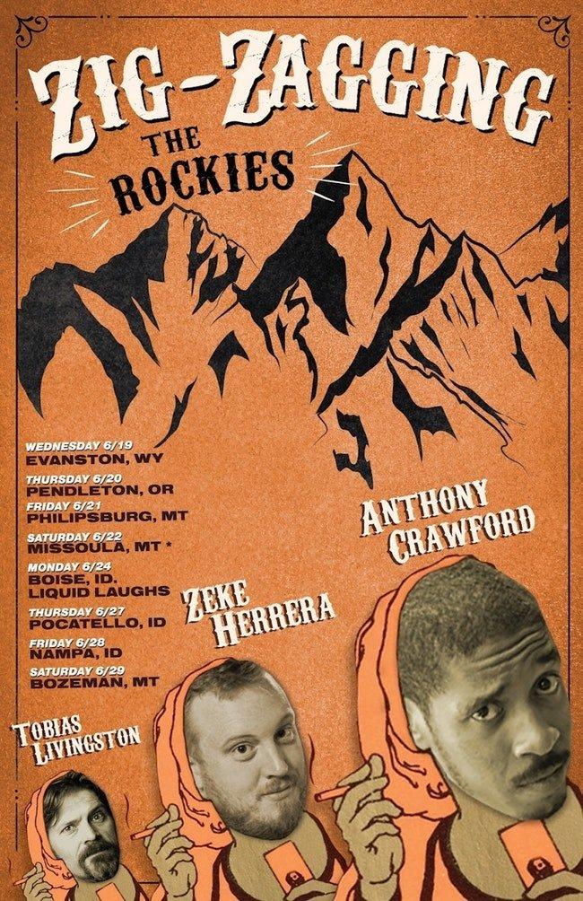 ExpiredZig Zagging The Rockies Comedy Tour